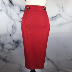 🦋HARVE BENARD🦋 vintage high waist pencil skirt